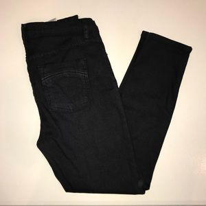 Free People stretch hi-rise cropped skinny jeans